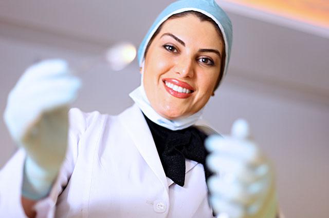 نوبت دهی اینترنتی کلینیک تخصصی هلال احمربجنورد Dental laser